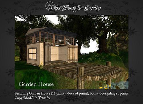 Winx-Garden House
