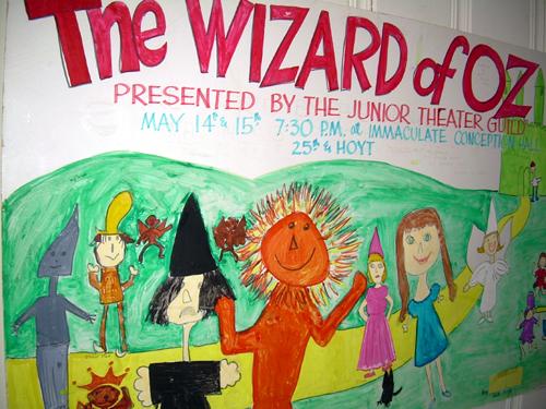Junior Theater Guild Wizard of Oz