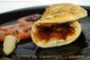 Tortilla de espárragos y albahaca