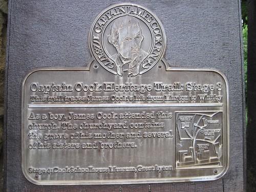 Captain Cooks family grave
