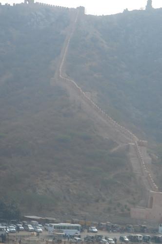 Amber Fort 1-24琥珀堡很像�國的萬里長城