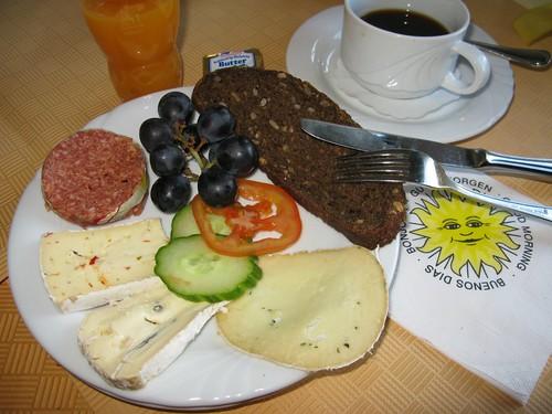 Frühstück im Strandhotel Pique 1