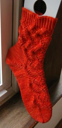 One Spring Forward sock