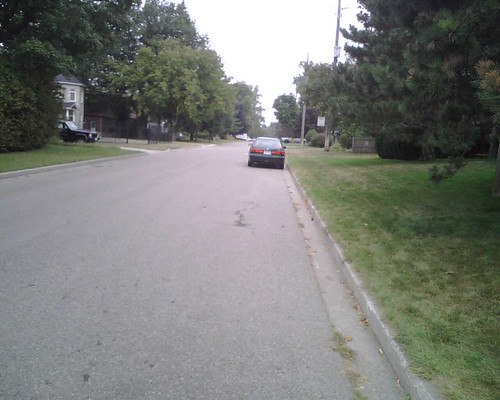 This is the street I live on