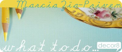 What To Do... Marcia Zia-Priven