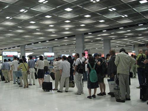 bangkok international suvarnabhumi airport immigration