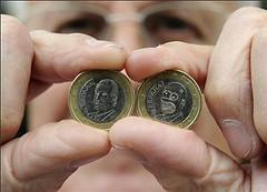 Spanish shopkeeper finds Homer Simpson euro