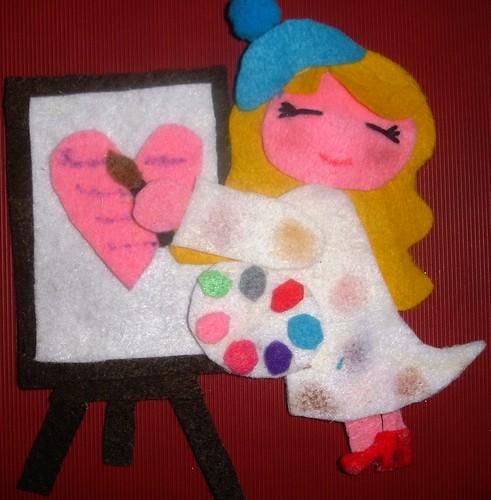 pintora de cartas