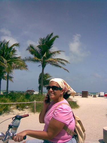 Waterfront Biking