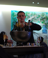 Guy Savoy Champagne Service