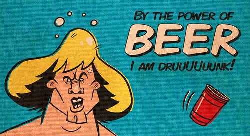 Drunken Master of the Universe