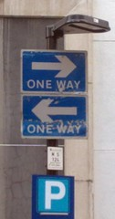 """""""one way"""" one-way oneway twoway two-..."""