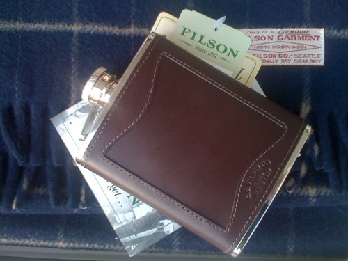 Filson Flask and Scarf
