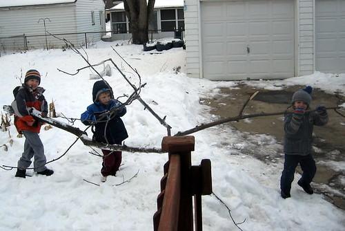 Stick wrangling