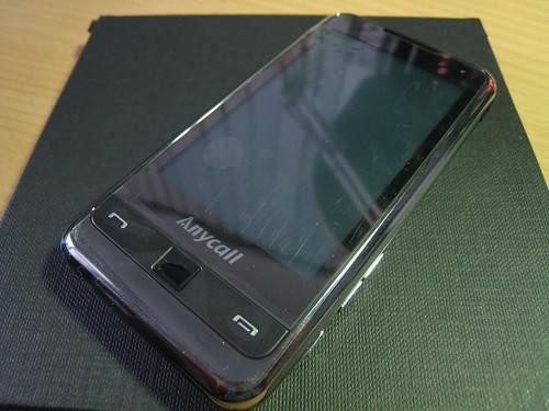 Samsung i908正面