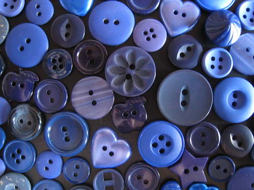 Blue Buttons by ShellyS