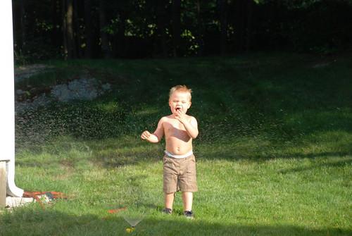 sprinkler!!