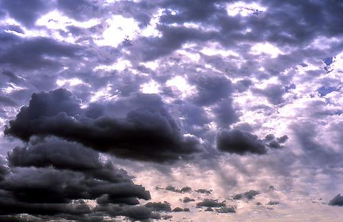 Sun vs. Storm, Paradise Valley, Montana. (Kodak Ektachrome E100VS. Nikon F100. Epson V500.)
