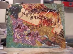 Happy Birthday Altered Art