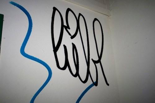 Liebe Graffiti Tag
