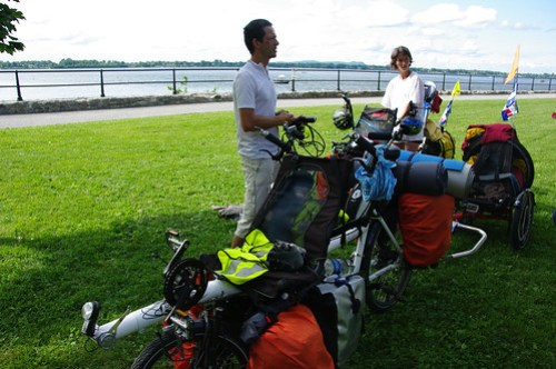 6TZEN Tandem biking across America