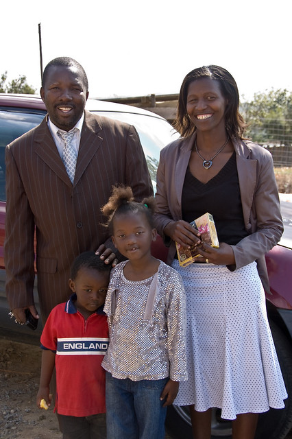 pastor e família