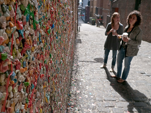 Gum Wall Admirers
