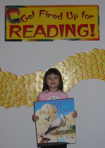 Reading Challange winner
