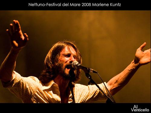 Marlene Kuntz live Nettuno 2008