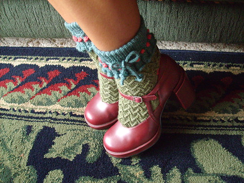 Very cute socks!!  Very cute!