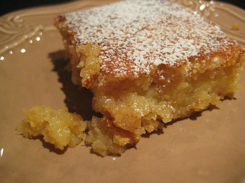 wholemeal lemon bars