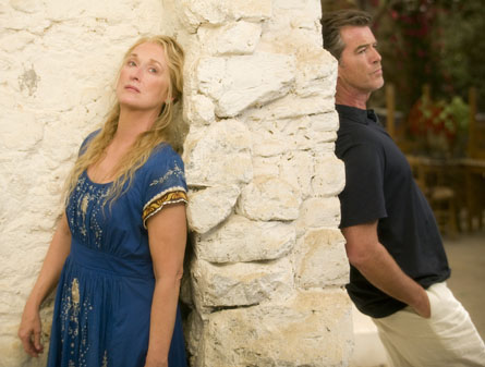 Mamma Mia Streep and Brosnan