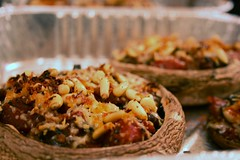 Mushrooms with Oat Stuffing