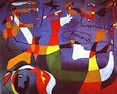 Joan Miró. Swallow Love. 1934.