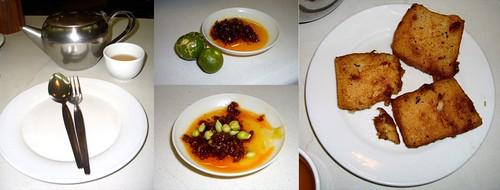 Radish Cake at LeChing Restaurant, Greenhills