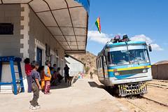 Ab Sucre: im Ferrobus nach Potosi