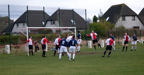 Larkhall clear an attack