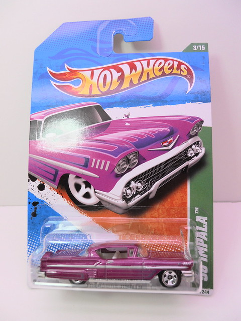 hot wheels '58 impala treasure hunt (1)