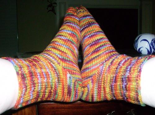 Socks on my feet 3.30.08