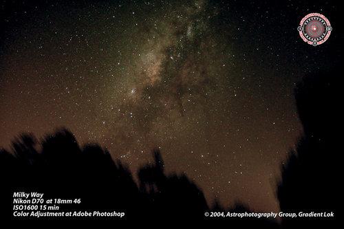 Milky Way by Gradient Lok (APGM)