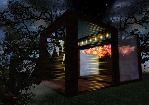 Midnight Garden Modern Romance Room by miaSnow in Second Life
