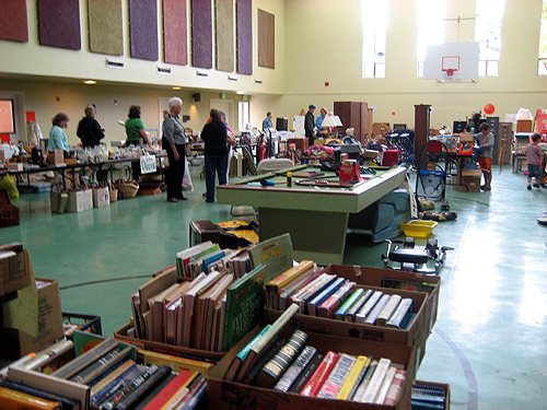 Yet another large rummage sale
