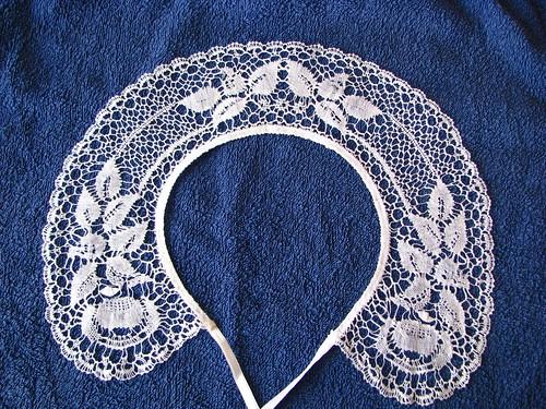 Kortelahti bobbin lace collar