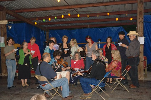 Singing Group and Campers Night