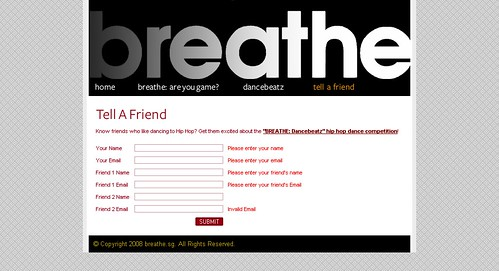 Breathe.sg - Send to Friend