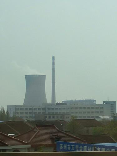 昆山 火力発電所?