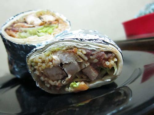 Chicken Burrito of Chihuahua Mexican Grill