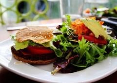 Raw Cheeseburger at Cilantro