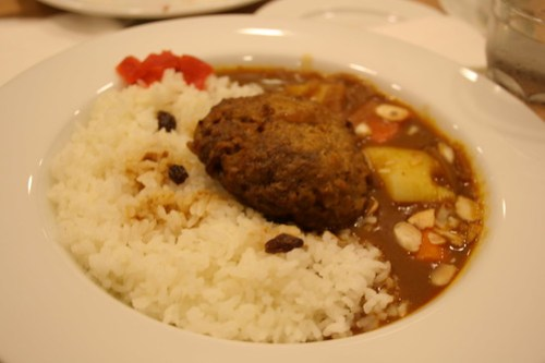 Hamburg Curry with rice at UCC