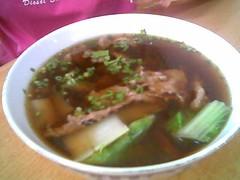 Beef soup @ Yum Yum, Sibu